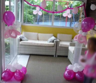 d coration sculpture de ballons anniversaires enfants la r union. Black Bedroom Furniture Sets. Home Design Ideas