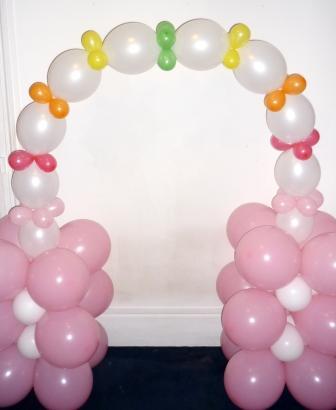 mini arche ballons